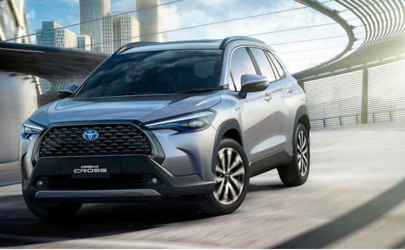 The Toyota Corolla Cross is positioned between the C-HR and the RAV4 in the company's line-up