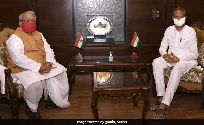 'I Have The Numbers,' Ashok Gehlot Tells Rajasthan Governor: Sources