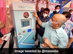 Manish Sisodia Inaugurates First E-Vehicle Charging Station In Delhi