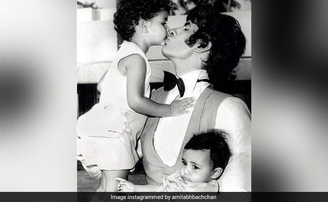 'Kaise Itne Bade Hogaye?' Amitabh Bachchan Writes In His Post For Abhishek And Shweta Bachchan Nanda