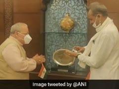 राज्यपाल कलराज मिश्र से मिले CM अशोक गहलोत, राजनीतिक संकट के दौरान तीसरी मुलाकात
