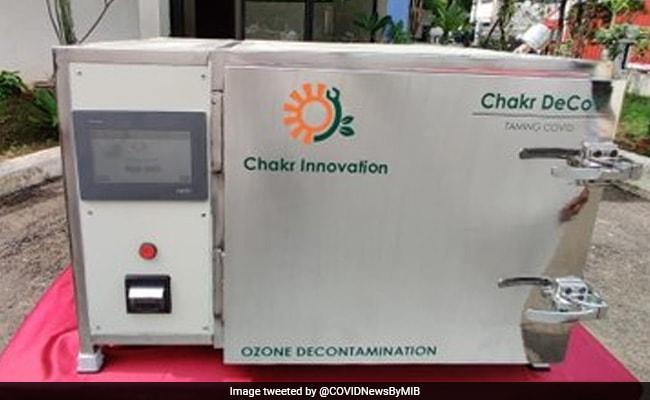 IIT दिल्ली के छात्रों ने बनाया ऐसा डिवाइस जो मास्क को करेगा क्लीन, कर सकेंगे फिर इस्तेमाल