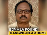 Video : Bengal BJP MLA Debendra Nath Ray Found Hanging In Market, Party Alleges Murder