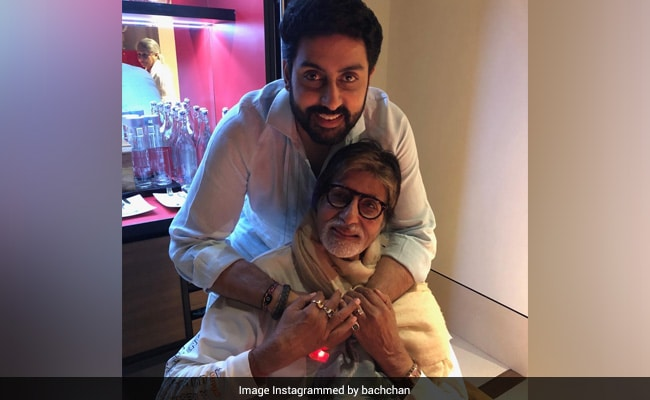 Amitabh And Abhishek Bachchan, Full Of 'Gratitude,' Send A Thank You Note To Fans From Hospital