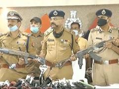 कानपुर हत्याकांड में लूटे गए एके-47 राइफलें UP पुलिस ने की बरामद