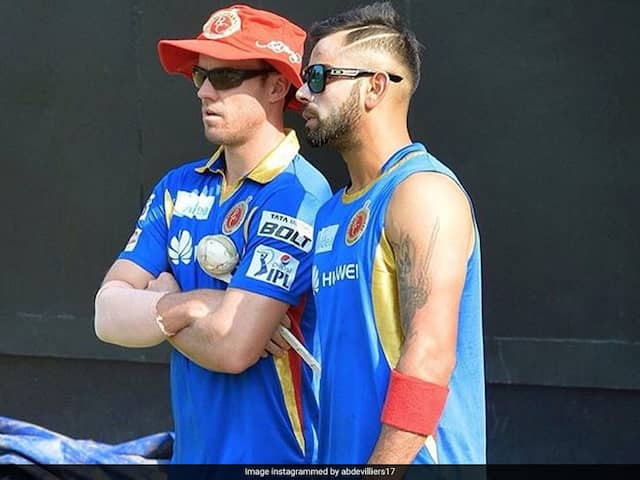 """Expecting Big Things From Him In Next 3-5 Years"": De Villiers On Kohli"