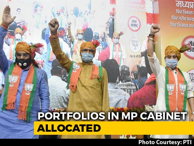 Video : Team Scindia Gets 41% Share, Top Posts In Madhya Pradesh Cabinet