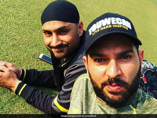 """Is It Your Happy 40 Or 47"": Yuvraj Singhs Hilarious Birthday Wish For Harbhajan Singh Will Tickle Your Funny Bone"