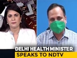 Video : People Will Get Same Medical Treatment As Me: Delhi Health Minister