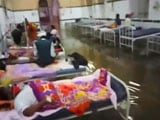 Video : Patients Wade Through Rainwater In Hyderabad's Flooded Osmania Hospital