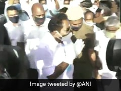 Watch: Safety Rules Ignored To Welcome Tamil Nadu Minister, Covid Free