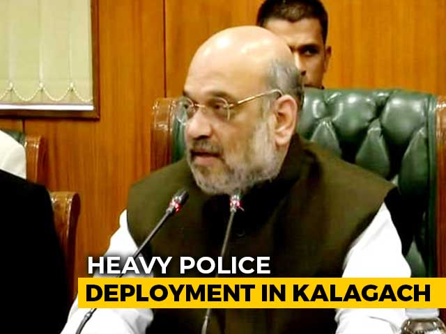 Video : Amit Shah, Bengal Governor To Meet Over Situation In State