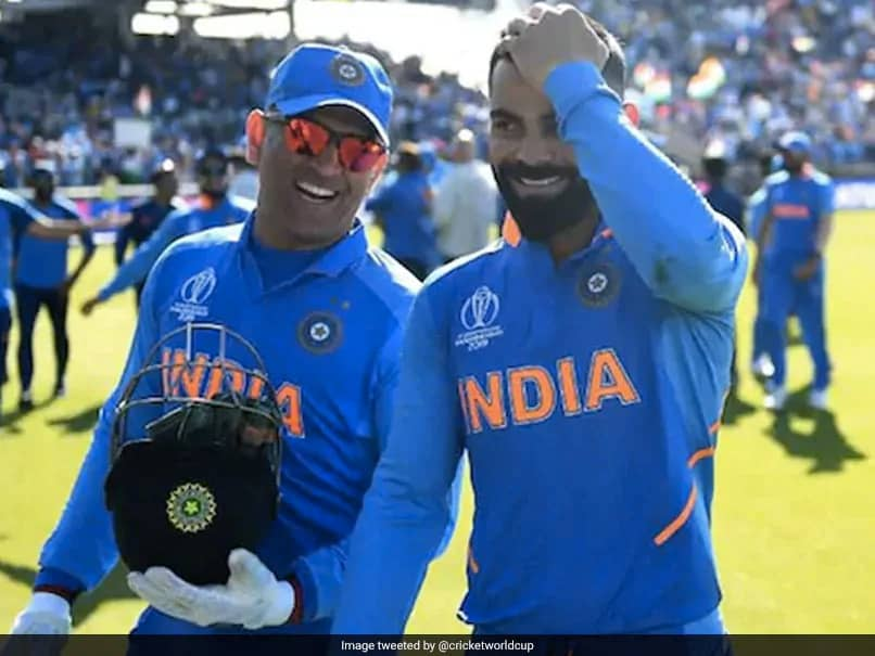 "Virat Kohli Wishes ""Good Health And Happiness"" To MS Dhoni On His 39th Birthday"
