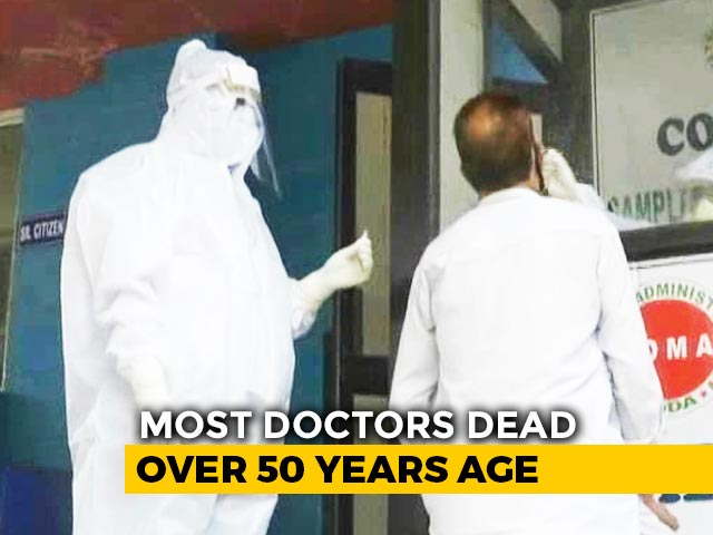 "Video : 99 Doctors Died Due To COVID-19, Says Top Medical Body; Issues ""Red Alert"""