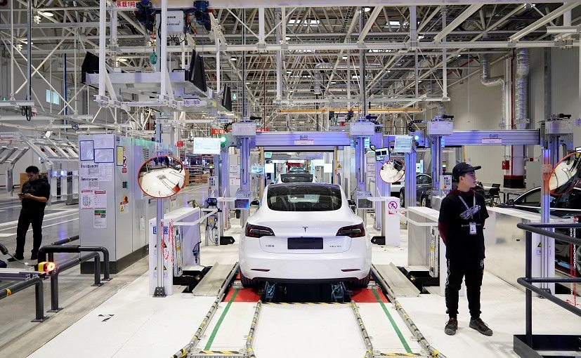 Tesla is planning to hire about 1,000 factory workers and new designers in China