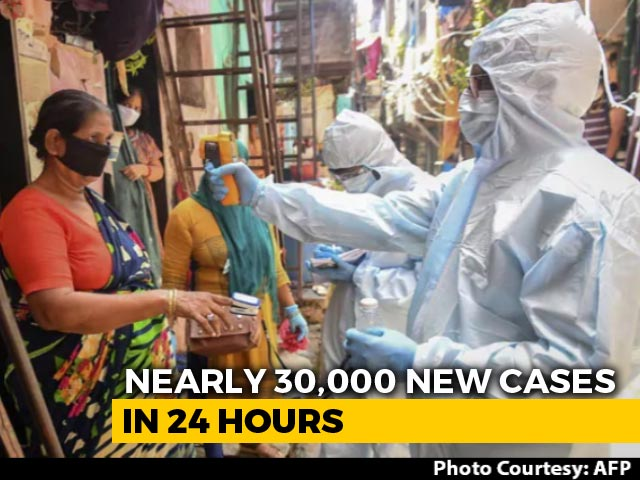 28,701 Coronavirus Cases In India In Biggest One-Day Jump, 8.78 Lakh Total Cases