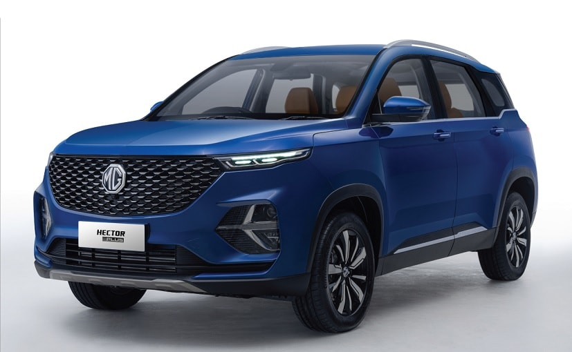 The MG Hector Plus is 65 mm longer than the five-seater Hector.