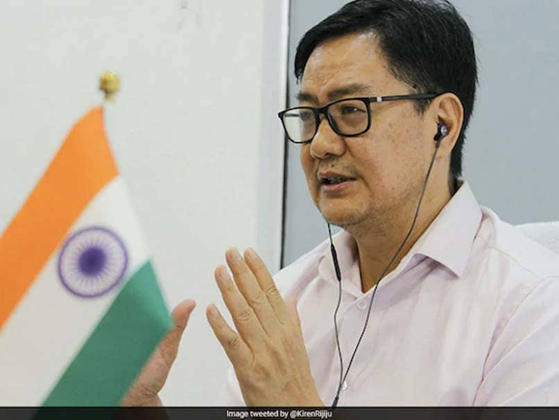 Kiren Rijiju Interacts With Sports Ministers Of 17 States, Union Territories