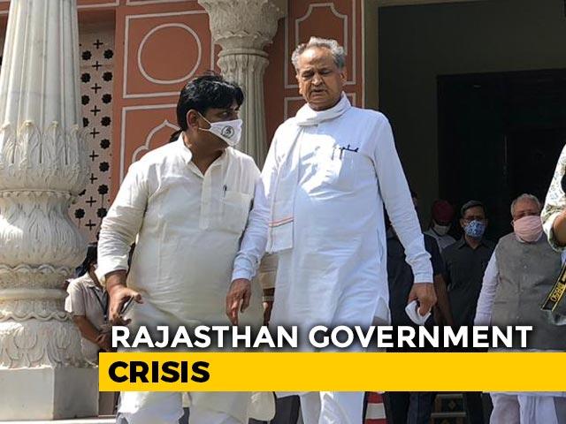 Video : Top News Of The Day: Ashok Gehlot, Rajasthan MLAs End Raj Bhawan Protest