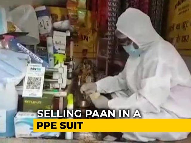 Video : In Varanasi, Paan Seller Wears PPE While Serving Customers | NDTV Beeps
