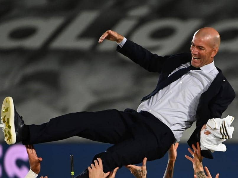 """Zinedine Zidane A """"Blessing From Heaven"""", Says Real Madrid President Florentino Perez"""