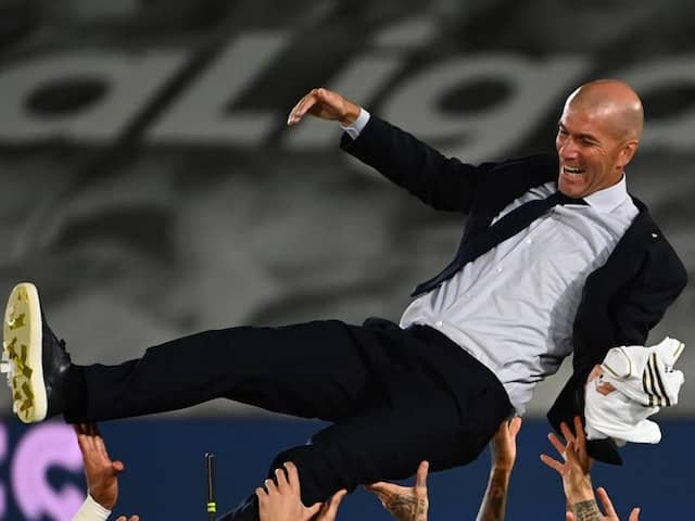 "Zinedine Zidane A ""Blessing From Heaven"", Says Real Madrid President Florentino Perez"