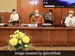 Home Minister Amit Shah Reviews Preparedness For Floods