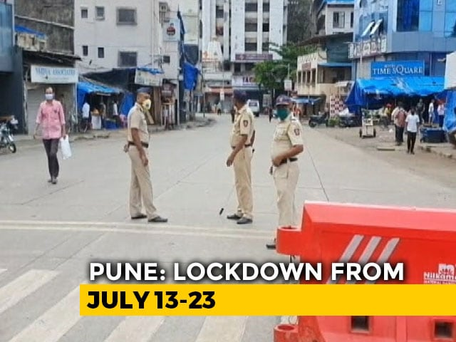 Video : Full Lockdown In Pune From July 13-23, Essential Services To Be Allowed