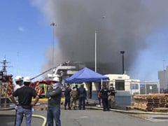 Major Fire Breaks Out On US Navy Ship In California, 11 Sailors Injured: Report