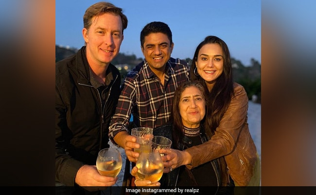 A Special Celebration For Preity Zinta And Family, For The First Time In 15 Years