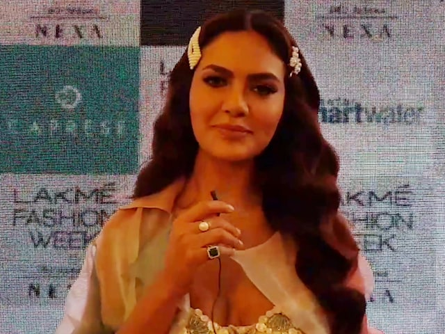 Video : Esha Gupta On Her Journey From Supermodel To Showstopper
