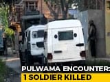 Video : Soldier Killed In Line Of Duty, Terrorist Shot Dead In Pulwama Encounter