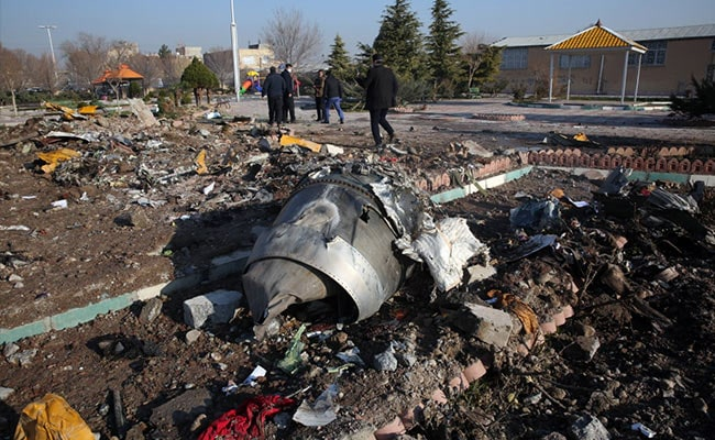 Ukraine: Too Early To Blame Human Error For Downing Of Plane In Iran
