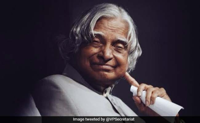 Dr APJ Abdul Kalam's Birth Anniversary: Know His 10 Big Achievements - NDTV