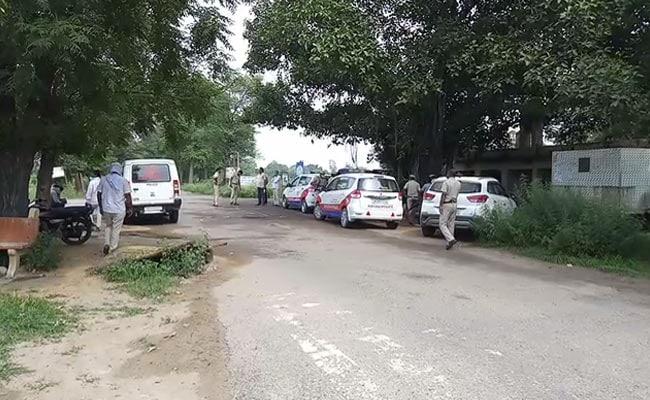 At Camp Pilot In Manesar Near Delhi, The Arrival Of Rajasthan Cops