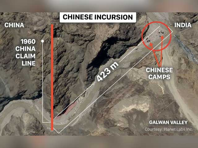 Video : China Withdraws Troops At Galwan Valley By At Least A Km: Sources