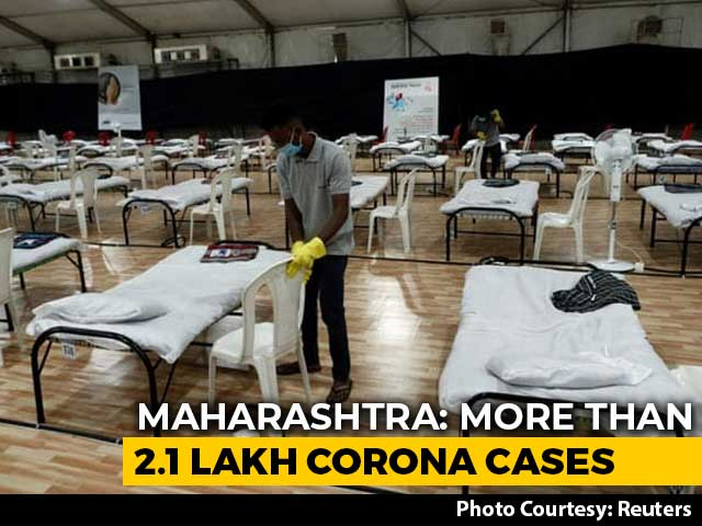 Video : 5,368 New COVID-19 Cases Found In Maharashtra; 204 More Die