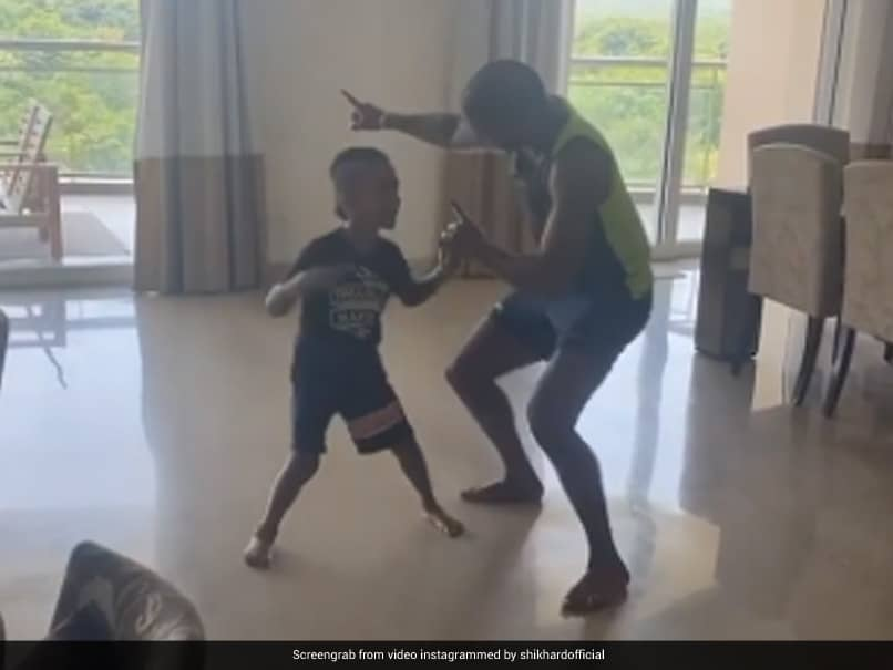 Shikhar Dhawan Fails To Convince Wife To Dance With Him, Yuzvendra Chahal Posts Wicked Reply