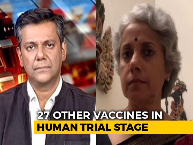 Video : Covid Vaccine Likely By First Half Of 2021, WHO Chief Scientist Tells NDTV