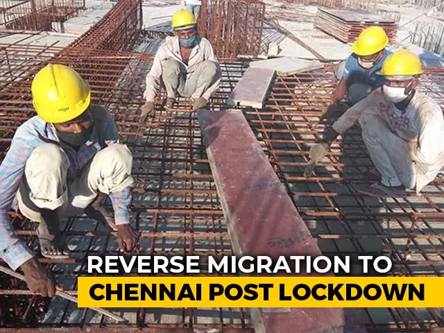 Video : Construction Starts In Chennai As Builders Bring Back Workers In Buses