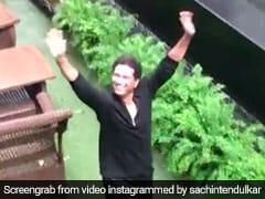"Sachin Tendulkar's ""Favourite Camerawoman"" Captures Him Enjoying Mumbai Rains. Watch"