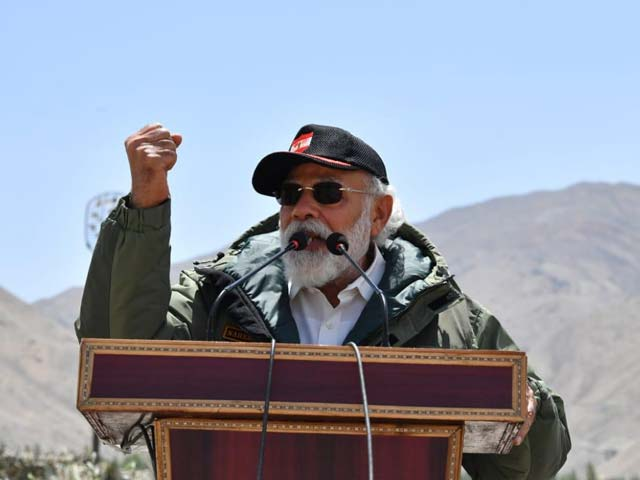 Video : Watch: PM's Full Speech To Troops In Ladakh