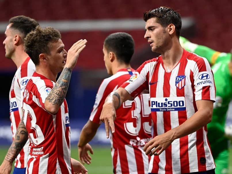 La Liga: Alvaro Morata Double Helps Atletico Madrid Stretch Unbeaten Run To 12 Games