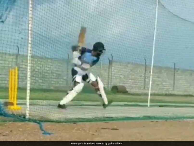 "Video Of Cheteshwar Pujara ""Getting Back Into The Groove"" Leaves Fans Awestruck"