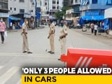Video : Public Gatherings Stay Banned In Mumbai, Nearby Cities In Full Lockdown