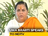 "Video : ""If I Am Sent To Gallows, I Will Be Blessed"": Uma Bharti On Babri Case"