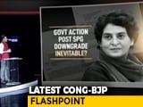 Video : Priyanka Gandhi Asked To Vacate Bungalow: Was It Response To Her Criticism?