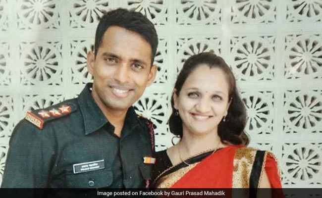 Smriti Irani's Post For Major's Widow Who Joined Army As Tribute To Him
