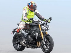 2021 Triumph Speed Triple 1200 RS Teased; Unveil Date Revealed