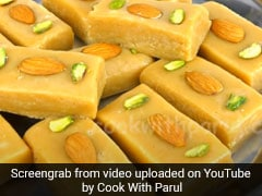 Teej 2020: Make Sooji Milk Cake Mithai Without Mawa At Home For The Festive Celebrations